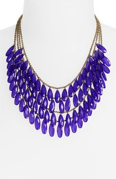 Carole Layered Teardrop Statement Necklace (Online Exclusive) | Nordstrom
