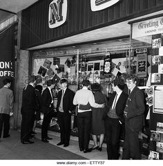 NEMS (North End Music Stores) shop in Liverpool, owned by Beatles manager Brian