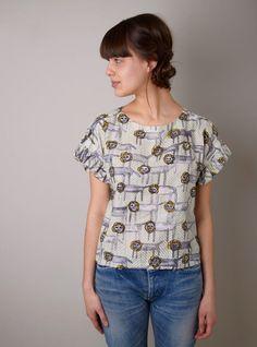 Mina Perhonen Look Animal Print Blouse