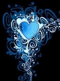 Color Hearts Wallpaper Animated gif | blue heart cell phone wallpapers animated mobile wallpapers and