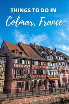 Colmar, France, is full of fun things to do. See the gorgeous half-timber buildings, wander Petite Venise, and visit the fabulous Unterlinden Museum. Take the time to taste Alsatian wine, play at the Toy Museum, and see the replica Statue of Liberty. Paris Travel Guide, Europe Travel Tips, Packing Tips For Travel, European Vacation, European Travel, France Travel, Italy Travel, Timber Buildings, Alsatian