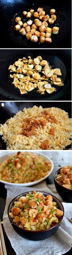 Scallops...I Love Em! on Pinterest | Seared Scallops, Scallop Recipes ...
