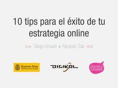 10 tips para el éxito de tu Estrategia Digital