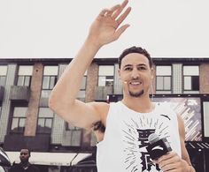 #KlayThompson visits China on Saturday June 24, 2017 while doing promotional appearances for Anta, the Chinese-based shoe brand with which he has a signature deal.