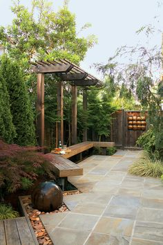 Large backyard landscaping ideas are quite many. However, for you to achieve the best landscaping for a large backyard you need to have a good design. Large Backyard Landscaping, Backyard Garden Design, Landscaping With Rocks, Pergola Patio, Backyard Patio, Pergola Kits, Pergola Ideas, Landscaping Ideas, Backyard Ideas