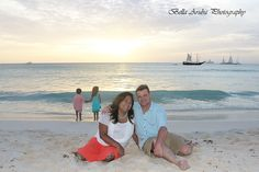 A perfect backdrop for a gorgeous family