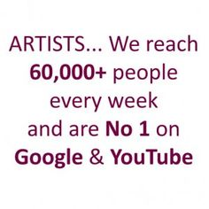 Artists – Reach Over 60,000 People Every Week! | Artists Info - Online Art Galleryhttp://www.artistsinfo.co.uk/artists-reach-over-60000-people-every-week/