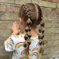 Cute Toddler Hairstyles, Easy Little Girl Hairstyles, Girls Hairdos, Cute Little Girl Hairstyles, Little Girl Braids, Baby Girl Hairstyles, Girls Braids, Braided Hairstyles For Kids, Toddler Hair Dos