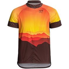 Primal Wear Render Cycling Jersey - Zip Neck, Short Sleeve (For Men)