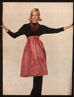 by Irving Penn for December Vogue 1958.