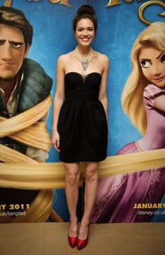 Mandy Moore I was so glad she was Rapunzel she has an amazing voice for a princess:)