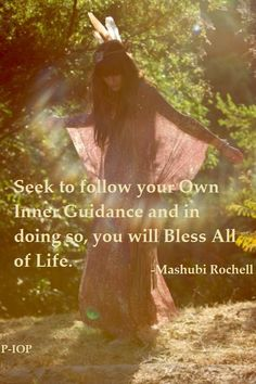 ~ Seek to follow your own inner guidance and in doing so you will Bless all of life ♡☆
