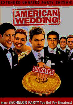American Wedding (2003) With high school a distant memory, Jim (Jason Biggs) and Michelle (Alyson Hannigan) are getting married -- and in a hurry, since Jim's grandmother is sick and wants to see him walk down the aisle -- prompting Stifler (Seann William Scott) to throw the ultimate bachelor party. And Jim's dad (Eugene Levy) is reliable as ever, doling out advice no one wants to hear. The disc includes an extended unrated version and the original theatrical version.