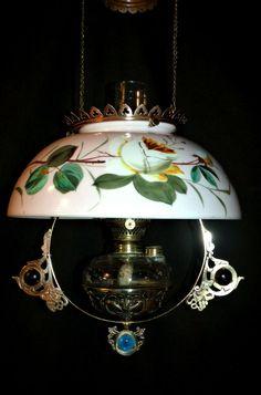 Victorian Lamps, Kerosene Lamp, Hanging Lamps, Hurricane Lamps, Oil Lamps, Milk Glass, Lanterns, Ceiling Lights, Jewels
