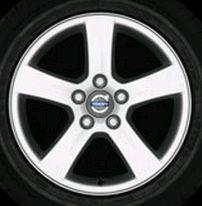 Arcas 16 x 7 Volvo #30672912 (color 938 Silverstone), Offset 49mm, 8.3 kg,