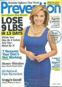 PREVENTION April 2012 Katie Couric Health Fitness Monthly English