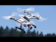 In this video, the Roswell Flight Test Crew unboxes, sets up and tests the quadcopter from Yuneec. Equipped with an integrated HD video camera mou. Drone Remote, Uav Drone, Aerial Camera, Drone For Sale, Fighter Jets, Aircraft, Military, Bicycling, Video Camera