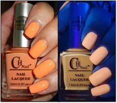 Born Pretty Store Fluorescent Nail Polish - Orange #orangenails #nailpolish #fluorescent #nails #wendysdelights - bellashoot.com