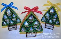 Qbee's Quest: Hershey's Christmas Tree Tutorial UPDATED!!!!