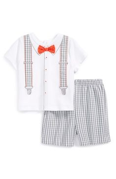 Little Me T-Shirt & Shorts (Baby Boys) available at #Nordstrom