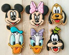 Mickey Mouse Clubhouse II - Cookies Art by Shirlyn