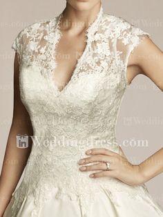 Unique Wedding Gown,Lace Wedding Dress