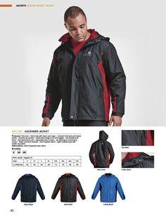 Ascender Jacket | belleregaloshop Zip Puller, Bungee Cord, Velcro Straps, Bomber Jacket, Sleeves, Jackets, Fashion, Down Jackets, Moda