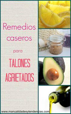 Manualidades y tendencias: Remedios caseros para talones agrietados / Home remedies for cracked heels.