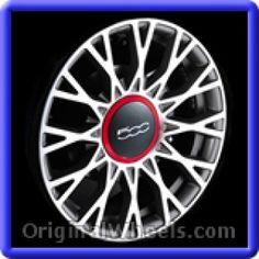 Fiat 500 2012 Wheels & Rims Hollander #61666  #Fiat #500 #Fiat500 #2012 #Wheels #Rims #Stock #Factory #Original #OEM #OE #Steel #Alloy #Used