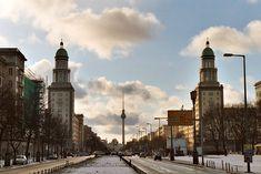Frankfurter Tor / Porte de Francfort, Karl-Marx-Allee - Friedrichshain - Berlin