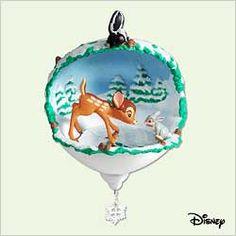 2005 Disney - Bambi - Skating Lesson HALLMARK ORNAMENT