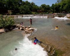 San Felipe Springs (Del Rio)- In this part of Texas, summers are particularly brutal, so any body of water is a welcome luxury. Along the San Felipe Creek, Horseshoe Park and Lions Park offer wonderful places to cool off from the sweltering Texas heat, and the small waterfall is a nice backdrop while you swim!