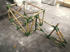 Design for Impact - Bamboo cycles 2012: Bamboo Tricycle - end result