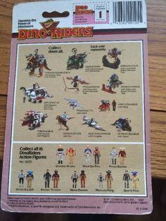 Dino-Riders-Action-Figure-Card