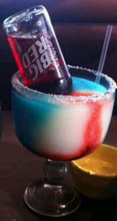Bomb pop margarita