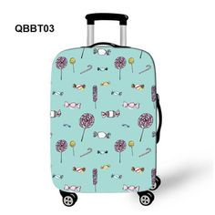015d4eb279 High Elastic Custom Suitcase Cover Travel Luggage Protector Fit 18  -28