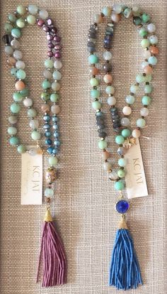 A personal favorite from my Etsy shop https://www.etsy.com/listing/246209521/new-jewel-tone-beaded-tassel-necklaces