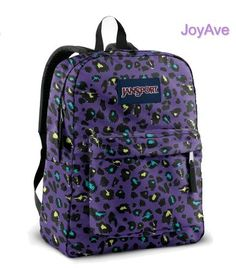 JANSPORT SUPERBREAK BACKPACK SCHOOL BAG – Purple « Clothing Impulse LOVE !!!