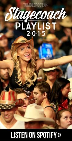 Stagecoach 2015 playlist on TumbleRoot's blog. The blog includes EVERYTHING you need to know about Stagecoach 2015 from where to stay, what to do, what to wear, and how to prepare for it! Great for country girls going to Stagecoach. // tumbleroot.com