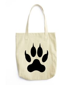 Lion Paw Tote bag