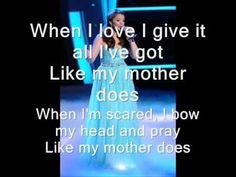 Like My Mother Does- Lauren Alaina lyrics