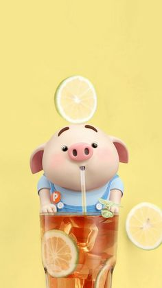 Get Hd full wallpaper for your android device. Pig Wallpaper, Animal Wallpaper, Disney Wallpaper, Iphone Wallpaper, This Little Piggy, Little Pigs, Pig Illustration, Illustrations, Cute Piglets