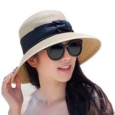 Chic Ladies Sun Visor Wide Brim Ribbon Band Foldable Beach Straw Bucket Hat Home Prefer http://www.amazon.com/dp/B01BPVEFR6/ref=cm_sw_r_pi_dp_oZDWwb0X8PP4Y