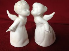 Kissing Angels - My mom had these.  vc