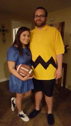 "Halloween is the best time of the year to show off how cute you and your ""boo"" are! What better way to do so than with adorable and easy couples costumes?! Keep reading for 20 of the best couples Halloween costume ideas! 1. Flo from Progressive and... #halloweencoustumescouples"