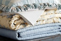 French Country bedding from OneKingsLane