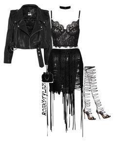 """-"" by roexstylez89 ❤ liked on Polyvore featuring Dsquared2, Vetements, Magda Butrym and Alexander Wang"