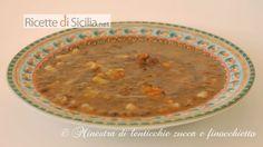 Minestra di lenticchie - Le Ricette di Sicilia.net