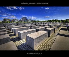 Holocaust Memorial - Berlin, Germany too many holocausts throughout time. So many wasted lives.