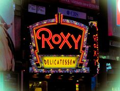 New York en abril Broadway Shows, Neon Signs